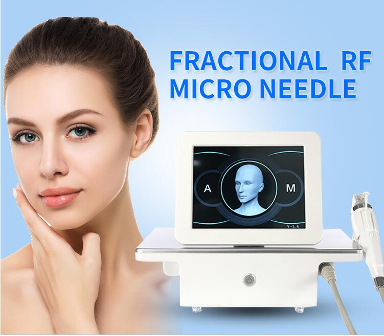 2019 New Arrival RF Portable Fractional RF Micro-Needle Fractional RF Machine Repair Scar Repair Stretch Marks For Beauty Salon