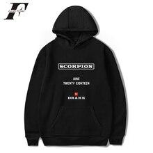 777b58ea0e4 2018 Rapper Drake Scorpion Hoodies sweatshirts Spring/Autumn Hoodies  harajuku Women/Men cotton Long