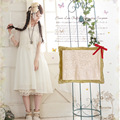 New Spring Mori Girl Women's Butterfly Cute Kawaii Sweet Fairy Lace Floral Layer Patchwork Embroidery Princess Female Dress A010