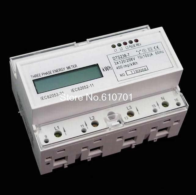 DTS238-7 DIN Ray 120/208VAC 60Hz veya 220/380VAC 60Hz veya 230/400VAC 50Hz 3 faz Watt-saat KWH Enerji MetreDTS238-7 DIN Ray 120/208VAC 60Hz veya 220/380VAC 60Hz veya 230/400VAC 50Hz 3 faz Watt-saat KWH Enerji Metre