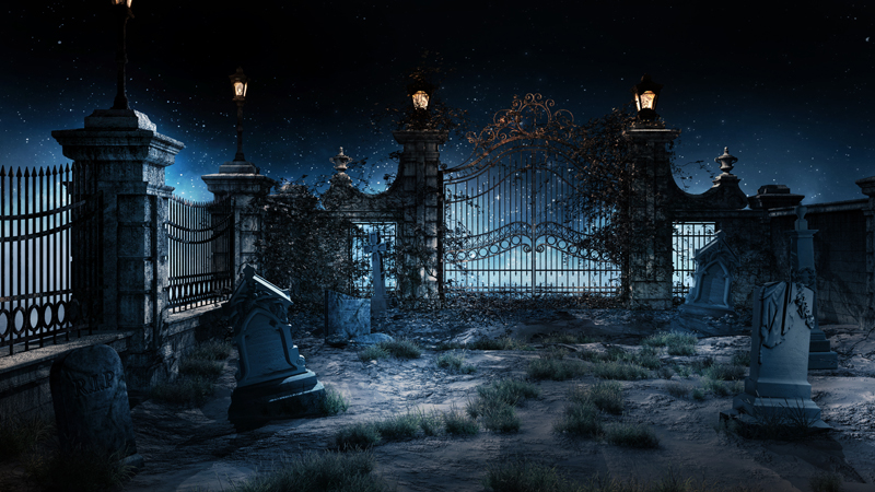 Graveyard Wallpapers - Wallpaper Cave  Halloween Tombstone Background