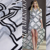Micro Transparent Jacquard Cloth Embroidery Organza Yarn Fabric Summer Dress Clothing Fabrics Organza Yarn Jacquard Fabric