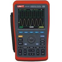 UNI T UTD1202C цифровой осциллограф хранения UTD1202C 2 канала 200 мГц 1GS/S осциллограф продаже!