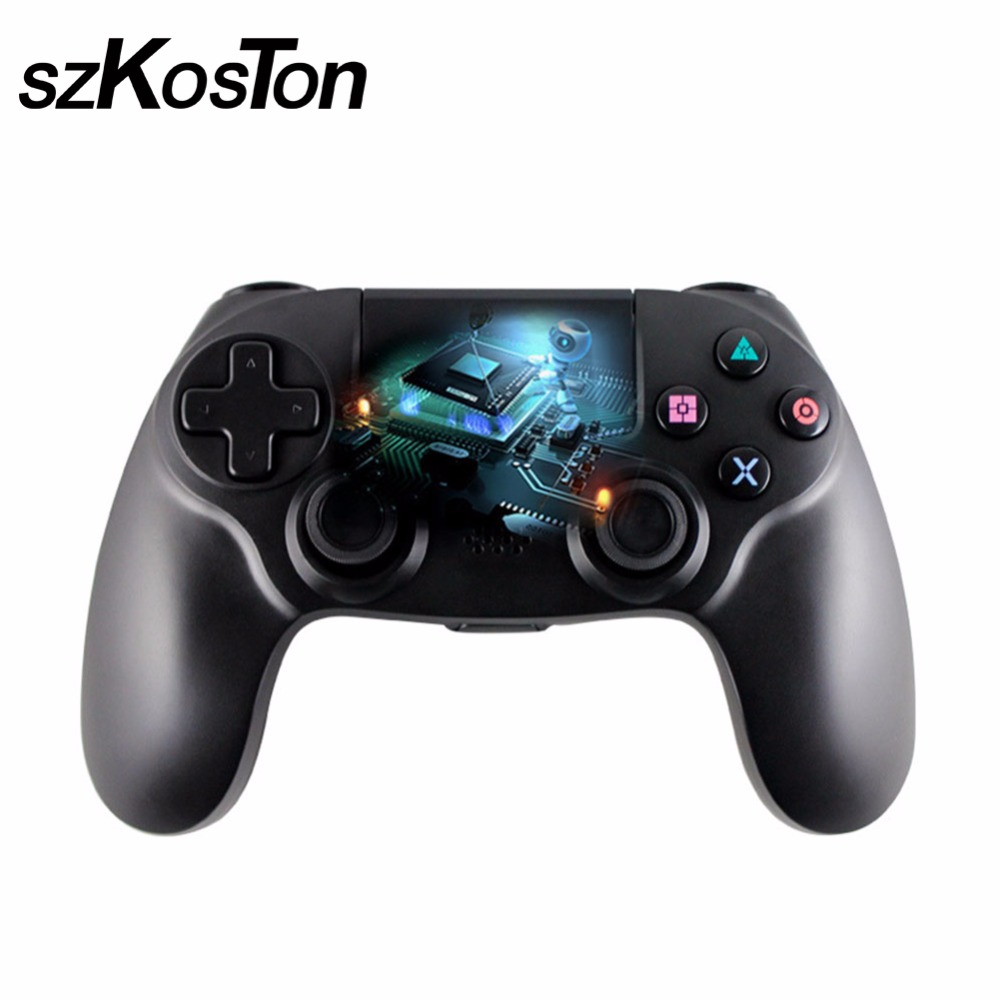 Bluethooth Gamepad for Sony PS4 Controller Double Vibration Joystick Gamepads for PlayStation 4 PS 4 крепление artplays ps 4 для камеры playstation ps 4002