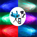 Mini LED RGB Water Wave Ripple Effect Stage Light Laser Projector With Remote Controller 7 color Lamp for Party Christmas Bar
