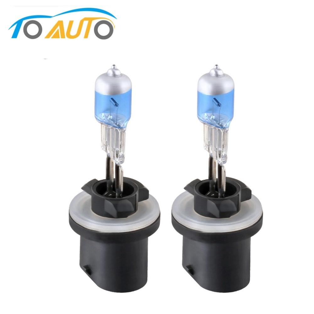 2pcs H27 880 881 12V 27W Halogen H27w/2 H27w/1 Headlight Bulbs Car Lights 3000K 5000K White Auto Lamp