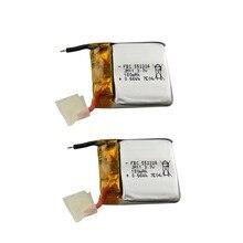 X20 2 PCS bateria de lítio 3.7 V 180 mah SYMA para peças para aeronaves drone acessórios