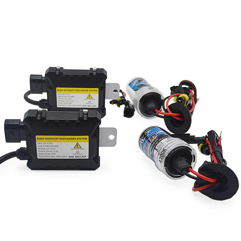 DUU-kit de Ballast mince ampoule au xénon HID, ampoule au xénon pour phare, lampe automatique au xénon, 12V H1 H3 H7 H11 9005 9006 4300k 5000k 6000k, 35W 55W