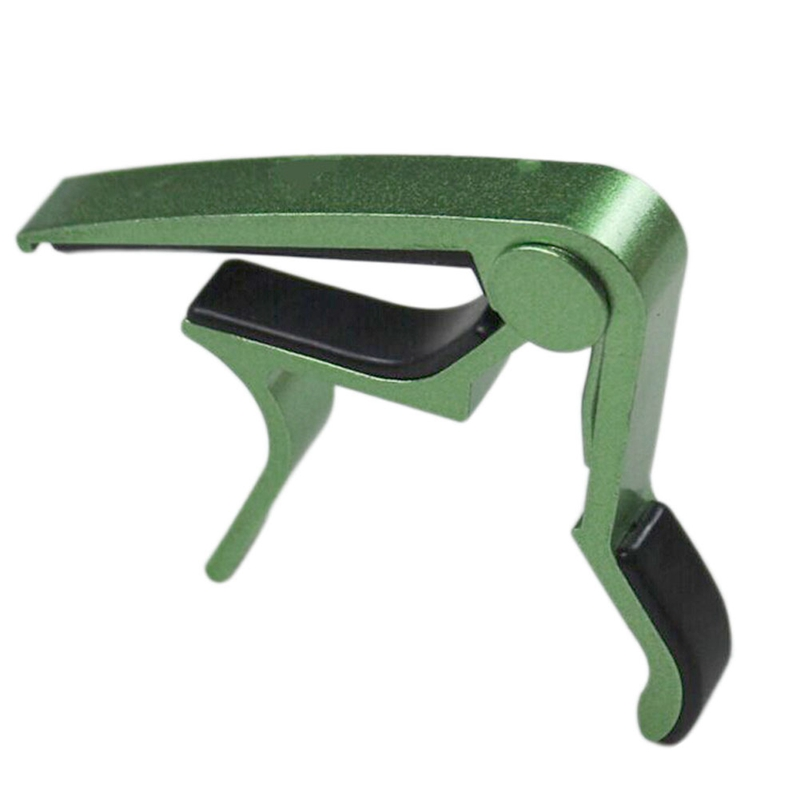 Green Single-handed Guitar Capo Quick Change