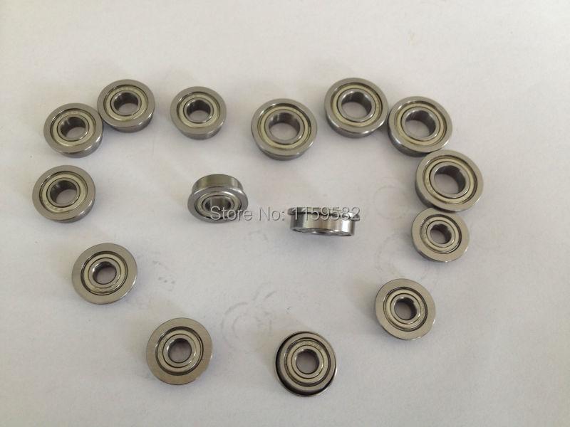 F683ZZ High speed & low noisy Flange bearing F683 ZZ 3X7X3MM F683 ZZ F683-ZZ F683-2Z 3X7X3 MM F683Z F683 Z 3*7*3MM 3*7*3 MM