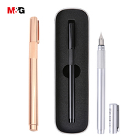 M G Classic Full Metal Ink Fountain Pen For School Brand Elegant Stationery Office High Quality