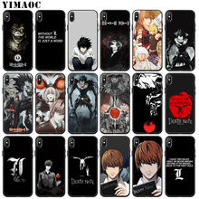 YIMAOC Death Note Ryuk kira Zachte Siliconen Telefoon Case voor iPhone 11 Pro XS Max XR X 6 6S 7 8 Plus 5 5S SE 10 TPU Zwarte Cover(China)