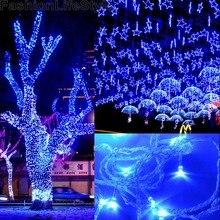 50M 300 LED Blue Decorative Lights Wedding Fairy Christmas Tree Party Twinkle String Light 220V EU 51