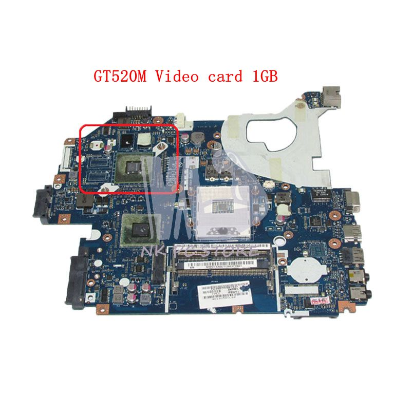 NOKOTION MBRFF02002 MB.RFF02.002 For Acer aspire 5750 5750G 5755G NV57H Laptop Motherboard P5WE0 LA-6901P HM65 GT520M 1GB GPU 2gb p5we0 la 6901p mbrcg02006 for acer aspire 5750 5750g 5755g laptop motherboard non integrated working pretty well