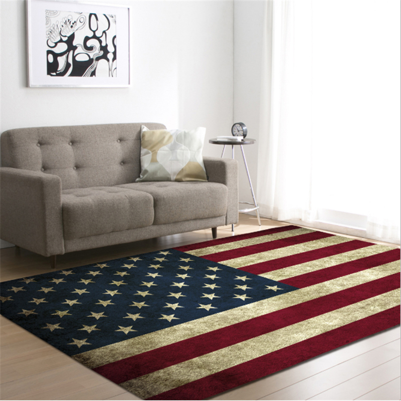 AOVOLL 2019 New Flag Pattern Living Room Carpet Creative Rug And Carpet For Living Room Bedroom Carpet Kids Room Bedroom RugAOVOLL 2019 New Flag Pattern Living Room Carpet Creative Rug And Carpet For Living Room Bedroom Carpet Kids Room Bedroom Rug