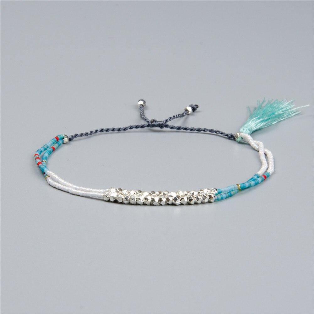 Shinus Miyuki Bracelet Summer Jewelry Fashion Woman Bracelets 2019 Pulseras Miyuki Boho Bileklik Instagood Bead Loom Colores Diy