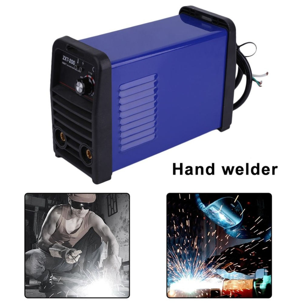 Professional MMA Continuous Welding Machine ZX7-200 IGBT Inverter Weld Manual Equipment PWM Control 220V Weldering Accessory thermocouple spot welding machine tl weld metal ball lotus wire feeder thermocouple welding