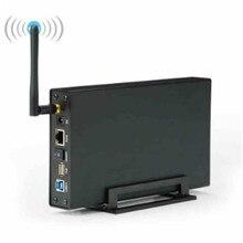 Blueendless BS-U35WF Wireless Storage Devices 6TB 2.5″3.5″SATA HDD/SSD Enclosure Nas LAN Share RJ45 Ethernet Wireless Devices