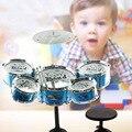 Los niños populares drum kit percusión instrumento musical de juguete de simulación alumno jazz tambor música kids developmental juguete regalos