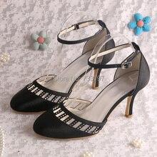 Wedopus Обувь На Каблуках Сандалии Женщина с вырезами Стрэп Свадебные Таможенные Услуги