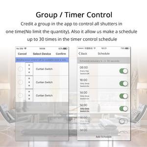 Image 4 - Zemismart Google Home Alexa Echo Curtain Switch Blind Switches For Standard Roller Motor Slide Engine Wifi APP Siri Control