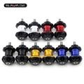 For Aprilia Tuono V4R/1000R SMV 750/1200 Dorsoduro SL 750 Shiver Motorcycle CNC Aluminum Swingarm Spools slider 6mm stand screws