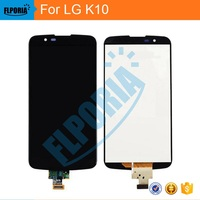 Black/White/Gold LCD+TP For LG K10 LTE K430DS / K410 K420n LCD Display with Touch Screen Digitizer Smartphone Replacement