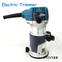 Electric Trimmer Woodworking Trimmer Speed Engraving Machine Woodworking Slotting Bakelite Milling