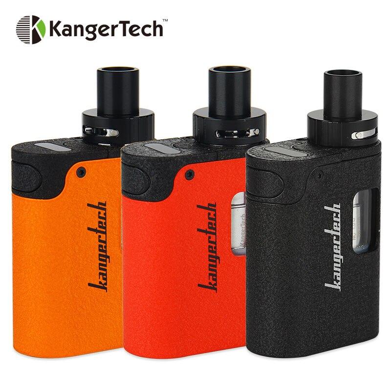 Ursprüngliche Kangertech TOGO Mini 2,0 Kit 1600 mah 1,9 ml CLOCC Spule leiter Kanger Elektronische Zigarette MAX 15 Watt Ausgang EU Vision für TDP