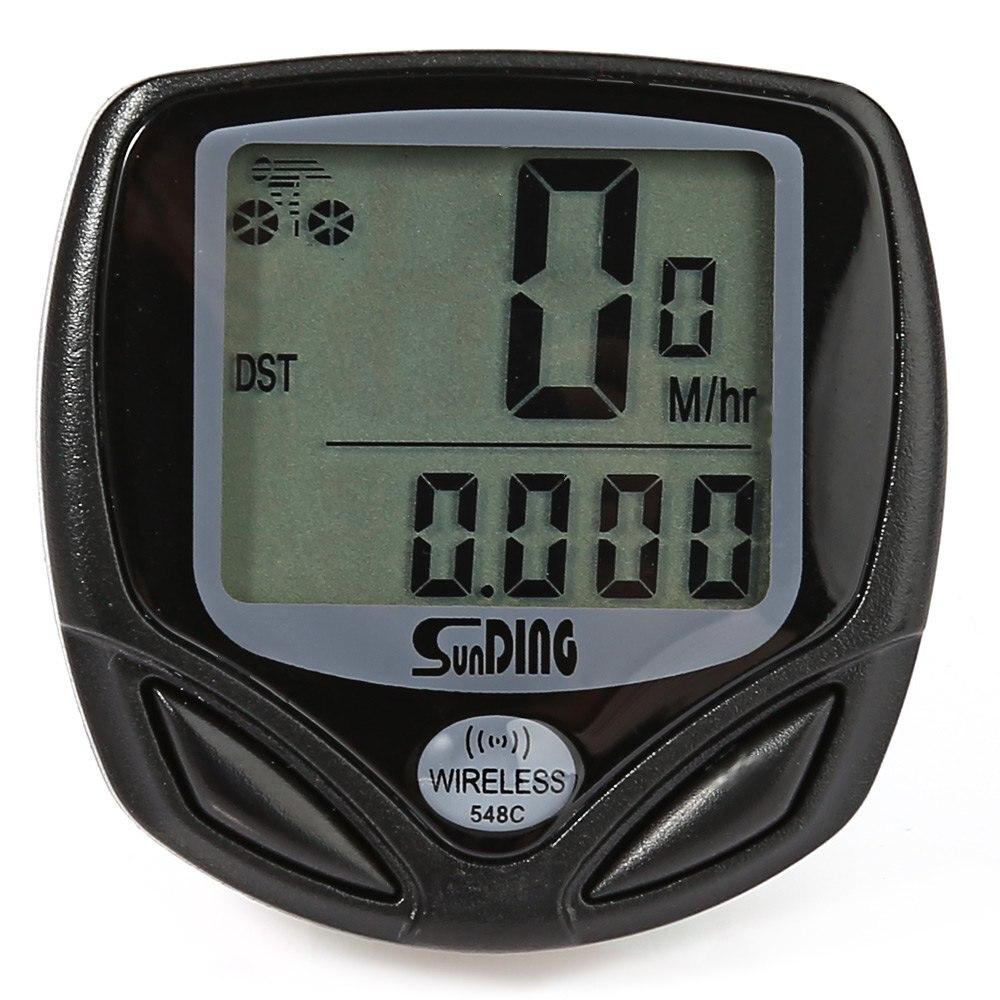 Ordinateur de vélo Résistant À L'eau Compteur Kilométrique Vélo Ordinateur Sans Fil + Vélo Chronomètre Ordinateur De Vélo dans Ordinateur à vélo de Sports et loisirs