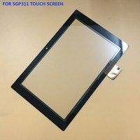 100 Test Black For Sony Xperia Tablet Z 10 1 SGP311 SGP312 SGP321 Front Touch Screen