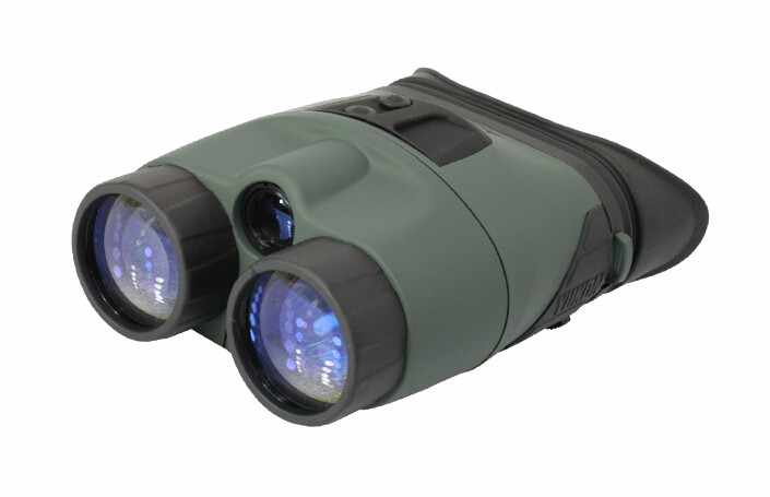 Original Yukon 25028 Night vision binocular tracker 3X42 hunting Night vision 3x with IR flashlight max. 150m NV Binocular 25028