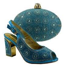 (No.89231-8) Italienische Schuhe mit Passenden taschen Für Party african Schuhe Und Taschen für Hochzeit schuh und tasche set frauen pumpen