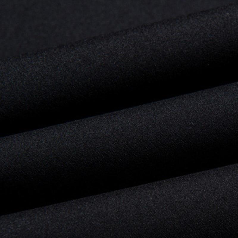 Новое поступление 2019, мужские тренчи, Мужские осенне зимние модные пальто, Мужская ветровка, высокое качество, черное пальто, Повседневное п... - 6