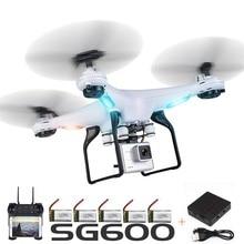 SG600 Радиоуправляемый Дрон с Камера Wi-Fi Fpv Quadcopter автоматический возврат высота Удержание Headless режим вертолет игрушки для детей Селфи drone