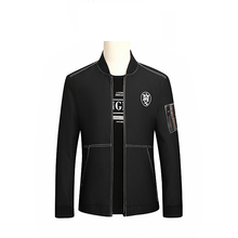 9XL 8XL 7XL Autumn fat XL double-sided jacket collar young men casual jacket size fashion business baseball uniform free postage