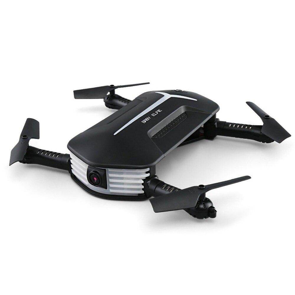 JJR/C H37 мини-ELFIE Drone 2,4 г 4CH 6 оси Wi-Fi FPV Складная RC Quadcopter с 3 батарейки 720 P камеры дистанционного управления