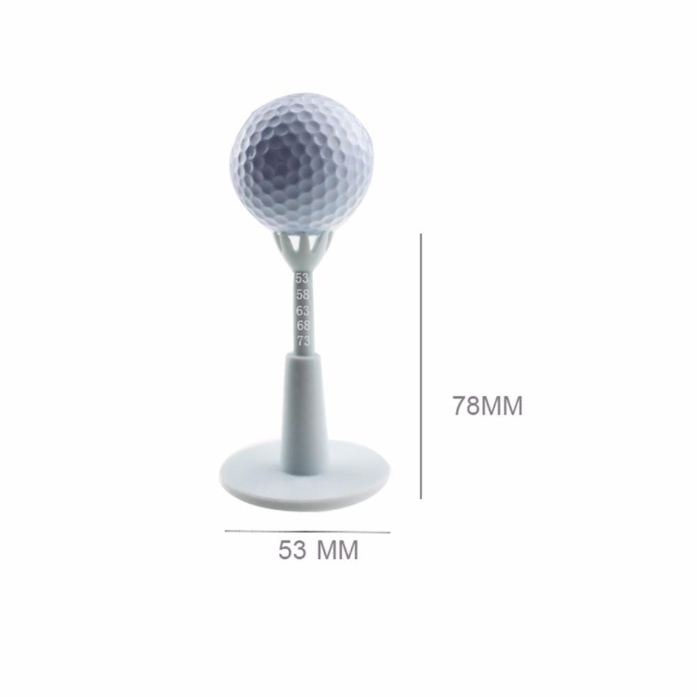 2pcs / pack Nastavljiva linija Tees Bela plastična Golf Tees Golf - Golf - Fotografija 3