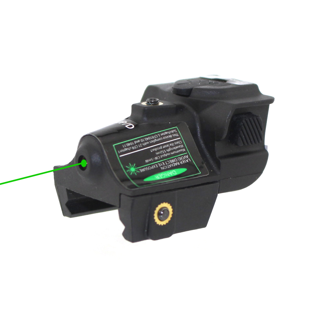 Universal Hunting Optics Green Dot Laser Sight Adjustable Mira Laser Para Pistola For Glock Shotgun Pistol Rifle