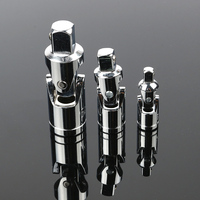 3pcs Impact Universal Joint Socket Set Swivel Hand Tools U Joint 1 4 Inch 3 8