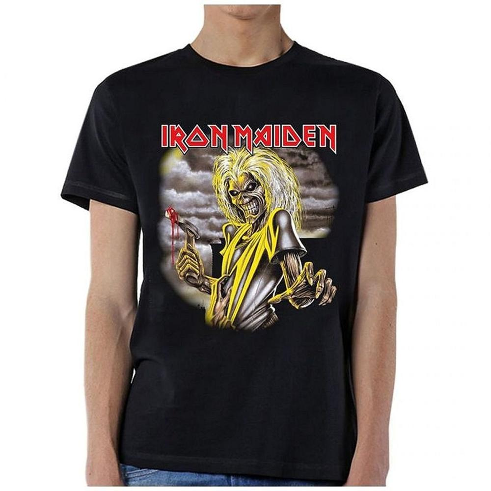 Shirt design china - T Shirt Hot Sale Clothes O Neck Short Iron Maiden Killers Single Sided T