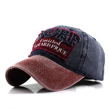 Mens Adjustable baseball caps ponytail cap Cotton Snapback Hat casual style letter print hats