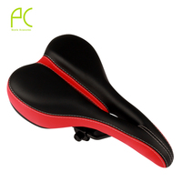 PCycling Wide Bicycle Seat Thicken Bike Saddle Seat Cycling Saddle MTB Cushion Non Slip Waterproof Sponge
