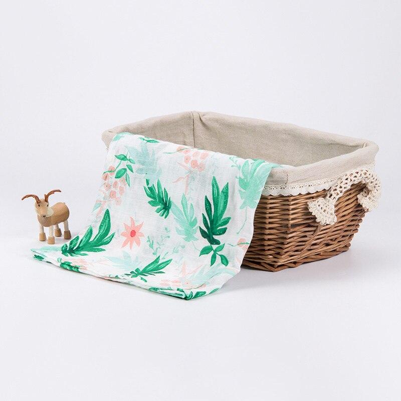 Soft Bamboo Cotton Baby Blanket Muslin Swaddle Wrap Bamboo Newborn Bamboo Muslin Blankets Gauze Bath Towel