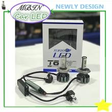 Высокое качество kit Привет/lo луч H4 T6 turbo CSP чипов 6000 К DRL 12 В-24 В авто Фар Противотуманные Фары лампы автомобилей резюме источник света системы