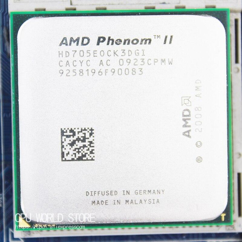 AMD Phenom II X3 705E CPU Processor Triple-CORE (2.5Ghz/ 6M /65W / 2000GHz) Socket Am3 Am2+ 938 Pin Sell 700e