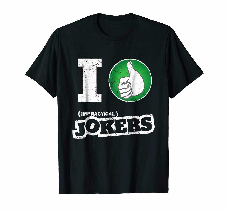 Повседневная забавная Мода Deisgn непрактичная Jokers Thumbs Up I Like Jokers Черная футболка для мужчин размер S-3XL