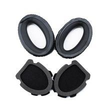 Premium 1 Pair Earphone Ear Pads Earpads Sponge Soft Foam Cushion Replacement for B-O-S-E Aviation Headset X A10 A 10 Headphones 1 pair earphone ear pads sponge soft foam earpads cushion replacement for logitech ue5000 headset headphones