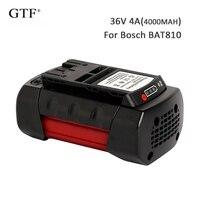 Para BOSCH 36 V 4000 mah 4Ah baterías recargables Li-ion batería de repuesto para BOSCH BAT810 BAT836 D-70771 batería de herramienta eléctrica