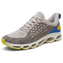 где купить New Summer Mesh Casual Shoes Men Lace-Up Men Sports Shoes Lightweight Comfortable Breathable Walking Sneakers по лучшей цене